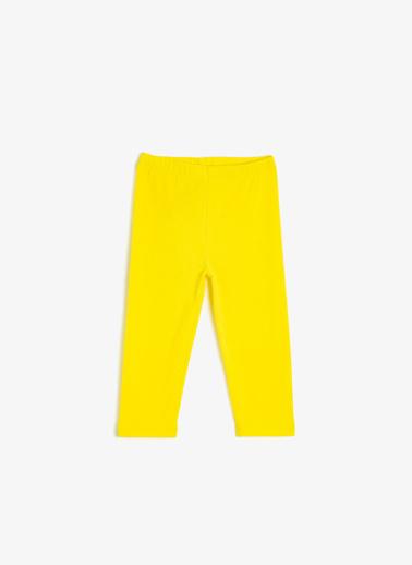 Koton Kids Tayt Sarı